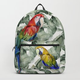 PARROTS IN THE JUNGLE Backpack
