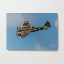 Bristol Blenheim Mk.1 Metal Print