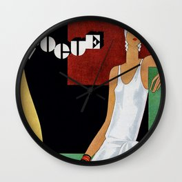 Vogue 1929 Wall Clock