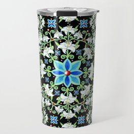 Beaux Arts Folkloric Lily Travel Mug