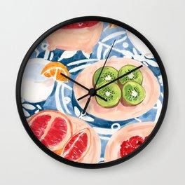 Summer Picnic Wall Clock