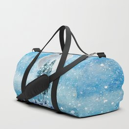 Winter Night 4 Duffle Bag