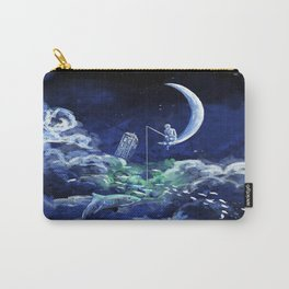 The Doctor Dreaming Of Fishing Carry-All Pouch