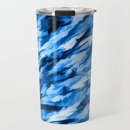 la configuration bleue Travel Mug