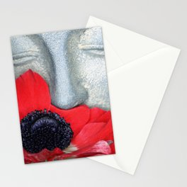 Anemone Buddha Stationery Cards