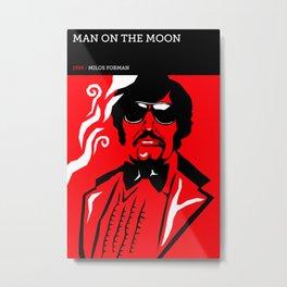 Man on the Moon Metal Print