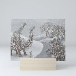 The Night Gardener - Winter Park Mini Art Print