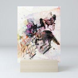 Horses (Canter) Mini Art Print