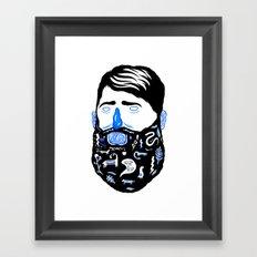 Animal Beard Framed Art Print