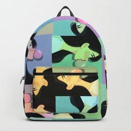 bubble gum pattern Backpack