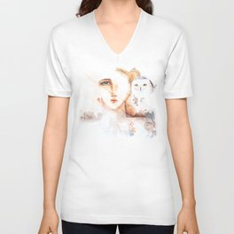 Des neiges Unisex V-Neck