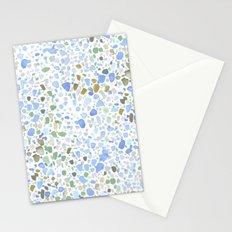 Magic Terrazzo Blue Stationery Cards