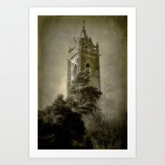 Tower On The Hill Art Print