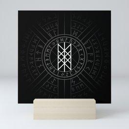 Web of Wyrd The Matrix of Fate- Black and White Mini Art Print