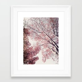 The Trees – Pink n' Bright Framed Art Print
