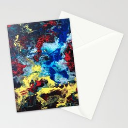 The Storm - an abstract impression Stationery Cards