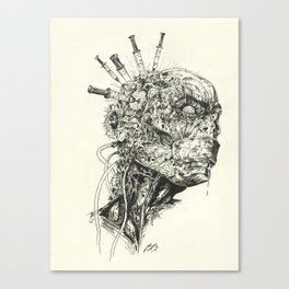Growing Insanity Canvas Print