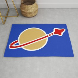 1980s Classic Lego Spaceman Rug