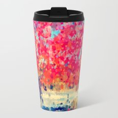 Orange Tree Watercolor  Travel Mug