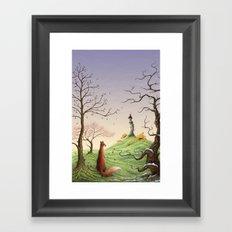 The Fox's Tower Framed Art Print