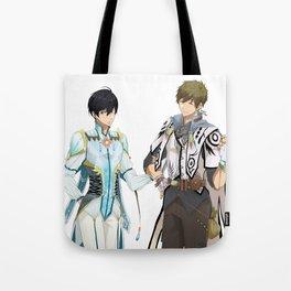 Tales of Iwatobi: Haru and Makoto (MakoHaru) Tote Bag