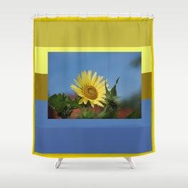 Sunflower Color Palette Shower Curtain