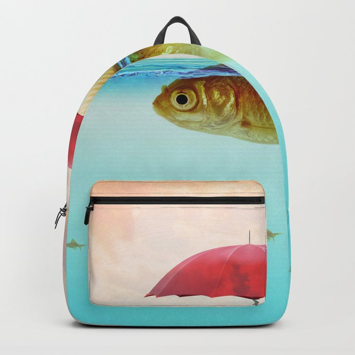 Under Cover Goldfish Backpack