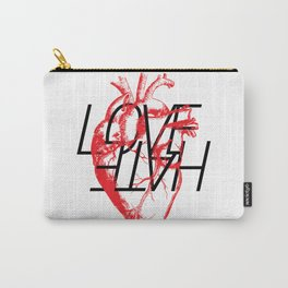 LOVE  –VS– HATE Carry-All Pouch