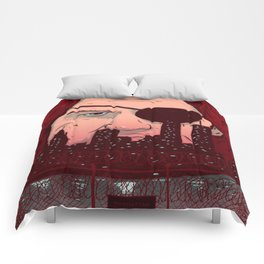 Escape from NY Comforters