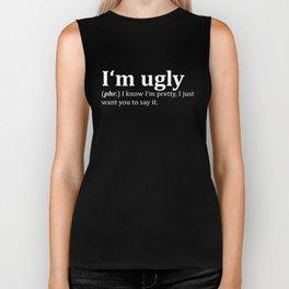 Ugly Dictionary Meme Biker Tank