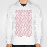 scales Hoodies featuring Pink Scales by Jessie Prints Stuff