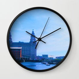 Liver Building from Princes Dock Wall Clock