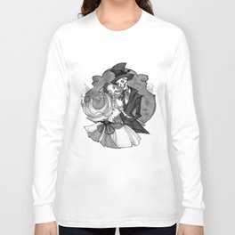 Inktober Skeletons Long Sleeve T-shirt