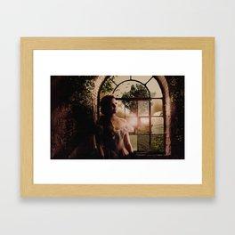 Regina: Young Hope Framed Art Print
