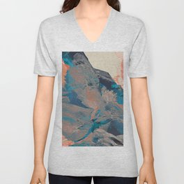 Meteorite_fire & ice Unisex V-Neck