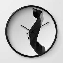 sculture Wall Clock