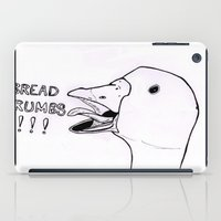 bread iPad Cases featuring Bread Crumbs!!! by MichaelJenningsDoodleBoy