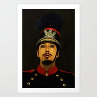 soldier Art Prints featuring Soldier by Jessica Beebe - Photography