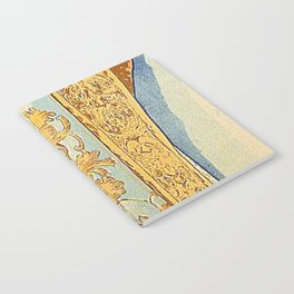 Art Nouveau poster by Alphonse Mucha Notebook