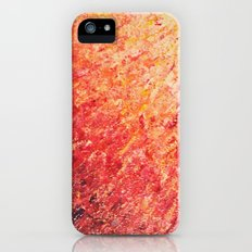 SAILOR'S SUNRISE - Beautiful Modern Abstract Crimson and Pink Nature Sky Sunset Ocean Reflection iPhone (5, 5s) Slim Case