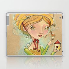 The Only Bee in My Bonnet Laptop & iPad Skin