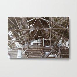Rafters 2 Metal Print