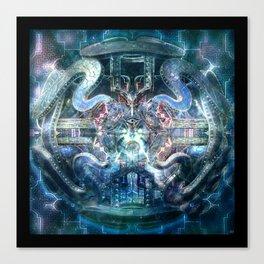 Crytalinne Equilibrium Canvas Print