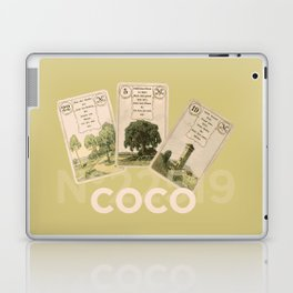 Mademoiselle Coco's desk Laptop & iPad Skin