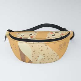 Cheetah, African Wildlife Fanny Pack