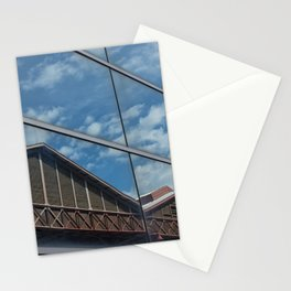 the old reflected on the new Stationery Cards