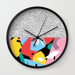 Apple Mess Wall Clock
