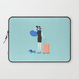 traveling is always good Laptop Sleeve