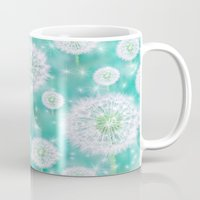 coconut wishes Mugs featuring Wishes by Lisa Argyropoulos