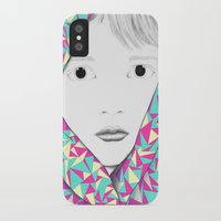 blanket iPhone & iPod Cases featuring Blanket by Denise Colgan